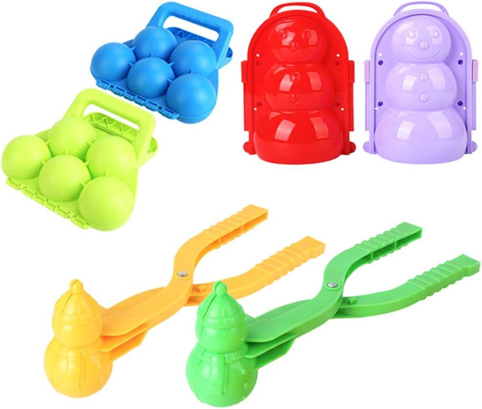 Ayangg 5 Max 83% OFF Colorado Springs Mall Pack Snowball Maker ,Snow Toys Games Creati 3 Ball