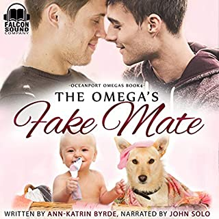 The Omega's Fake Mate     Oceanport Omegas Series, Book 4              By:                                                                                                                                 Ann-Katrin Byrde                               Narrated by:                                                                                                                                 John Solo                      Length: 7 hrs and 59 mins     47 ratings     Overall 4.6
