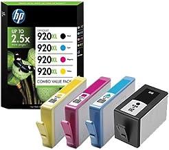 HP C2N92AE - 920XL - 4-unidades - de alto rendimiento - color (cian, magenta, amarillo, negro) - original - cartucho de tinta - para Officejet 6000, 6500, 6500 E709a, 6500 A, 6500 A E710a, 7000, 7500 A