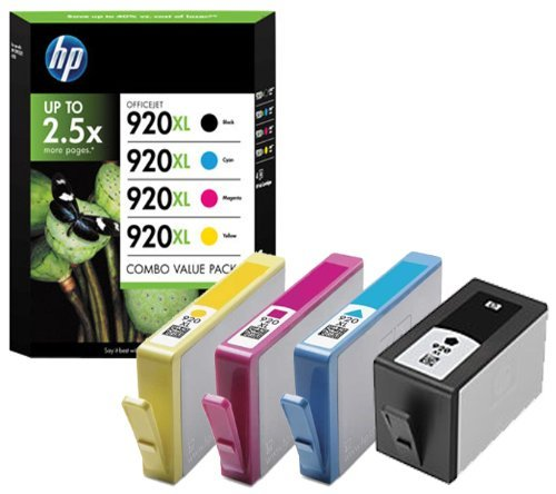 HP C2N92AE - 920XL - C2N92AE - 1 x Black,1 x Cyan,1 x Magenta,1 x Yellow - 1 x Multipack- - Ink cartridge - High Yield - For Officejet 6000, 6500, 6500 E709a, 6500A, 6500A E710a, 7000, 7500A