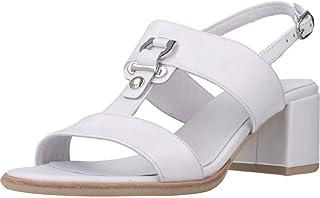 Sandalo da Donna NeroGiardini in Pelle Black o Bianco E012264D. Scarpa dal Design Raffinato. Collezione Primavera Estate 2020