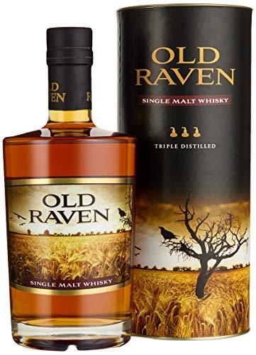 Old Raven Single Malt Whisky Triple Distilled mit Geschenkverpackung (1 x 0.5 l)