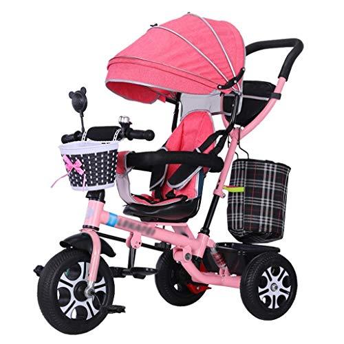 Babywagen 3-in-1-Kombikarrenwagen Kombikinderwagen Kinderwagen Baby Joggingwagen Kinderwagen Dreirad