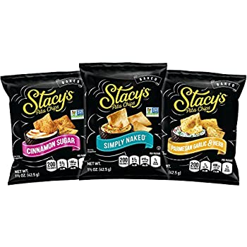 Stacy s Pita Chips Variety Pack 1.5 Ounce  Pack of 24