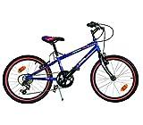 Mediawave Store Bicicletta Spiderman Ultimate Mountain Bike 420 U-13SA Misura 20 età 6-9 Anni