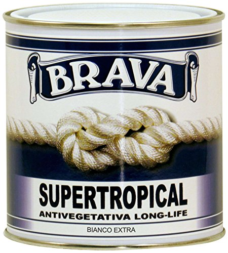 Brava Supertropical Antivegetativa, Bianco Extra, 750 ml