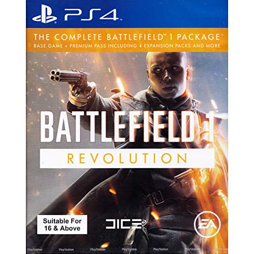 PS4 BATTLEFIELD 1 REVOLUTION EDITION (ENGLISH) (ASIA)