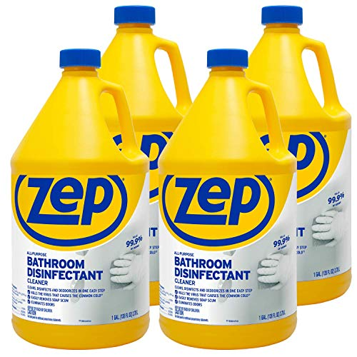 Zep All Purpose Surface Disinfectant ZUAPBD128 1 Gallon (Case of 4) Pro Formula, Kills 99.9 Percent of Germs