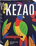 Kezao - Juego de Cartas Coloridas y Divertidas con Dados - Rápido y observación - Juegos de Mesa para Familia y niños