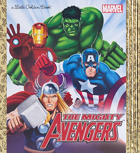 Compare Textbook Prices for Marvel Little Golden Book Library Marvel Super Heroes: Spider-Man; Hulk; Iron Man; Captain America; The Avengers Illustrated Edition ISBN 9780449817353 by Various,Golden Books