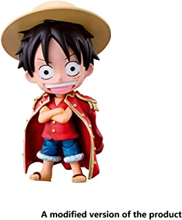 Huangyingui One Piece Chibi Arts Action Figure Monkey D. Luffy Toy High 11CM(4.3Inches)