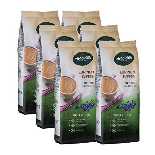 Naturata Bio Lupinenkaffee, instant, Nachfüllbeutel (6 x 200 gr)