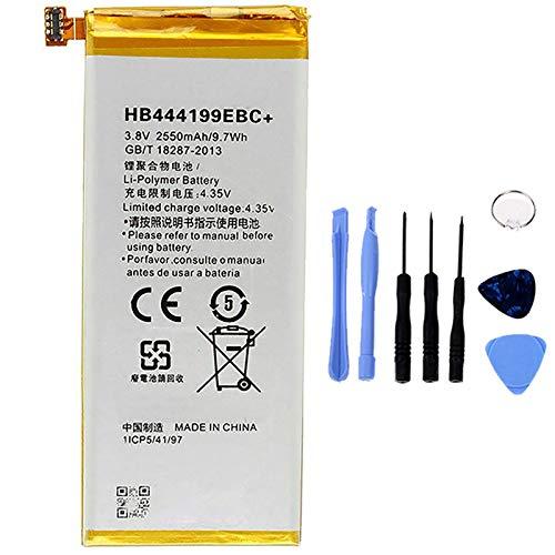Ellenne Batteria Compatibile con Huawei Play Mini - Honor 4C HB444199EBC+ AD Alta capacità 3450MAH con Kit SMONTAGGIO Incluso