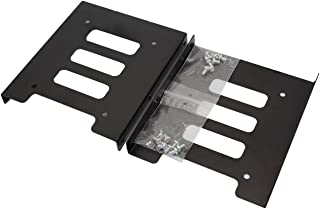 SSD Mounting Bracket, SNANSHI SSD Bracket 2.5 to 3.5 Adapter SSD HDD Metal Mounting Bracket Adapter Hard Drive Holder for PC SSD (Pack of 2)