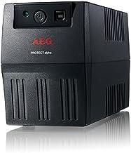 AEG Protect Alpha 800 Sistema de alimentación ininterrumpida (UPS) 800 VA 4 Salidas AC - Fuente de alimentación Continua (UPS) (800 VA, 480 W, 170 V, 280 V, 230 V, 50/60 Hz)