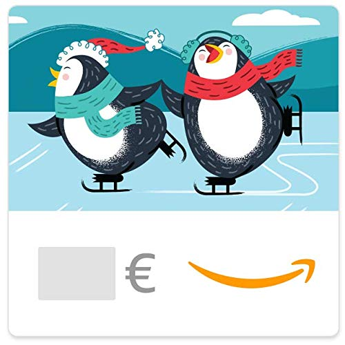 Digitaler Amazon.de Gutschein (Pinguin Eislaufen)