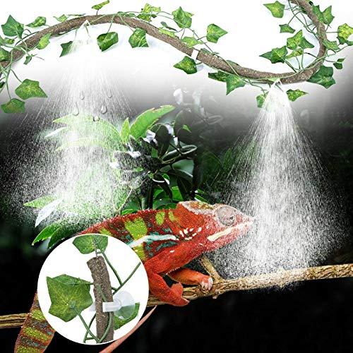 SALUTUYA La Vid del Tanque de Peces Tiene la función de Enfriar y Eliminar el Polvo para el Tanque de Peces para Que(3m Suit + 2 Creeper Leaves)