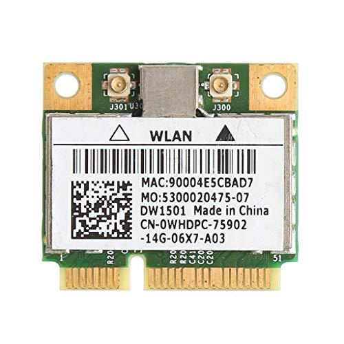 zkm111 WLAN-Mini-PCI-E-Karte für Dell DW1501 0K5Y6D mit Broadcom BCM94313HMG2L, 150 m