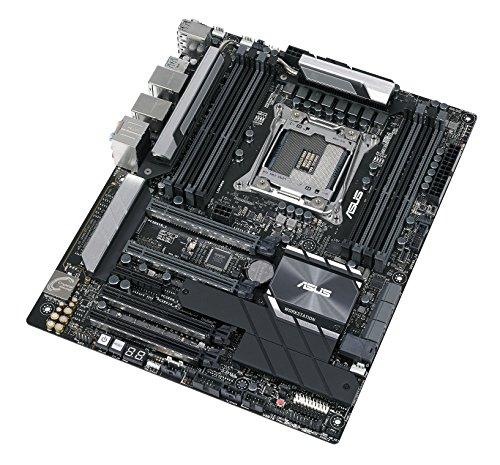 ASUS WS C422 PRO/SE Workstation Mainboard (ATX, Intel W-2100 / W-2200 Serie, LGA 2066, 8x DDR4 2666 MHz, PCIe 3.0, SATA, U.2, M.2, NVME, SATA, Dual LAN, BMC)