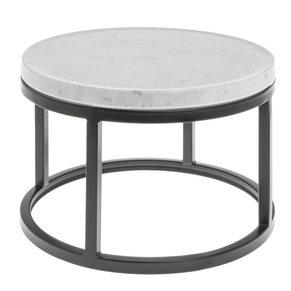 Hubert Black Large Riser with Marble Import Top 5