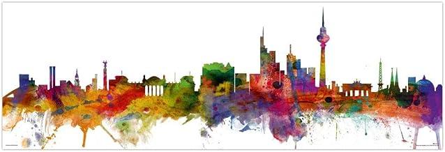 Close Up Berlin Skyline Poster Michael Tompsett (91,5cm x 30