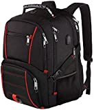 Tinvic Travel Laptop Backpack, Extra Large College School Backpack for Men Women with USB Charging Port, TSA Friendly Heavy Duty Big Business Computer Backpacks Bag Fit 17 Inch Laptops, RFID Durable Bookbag 17 backpack Mar, 2021