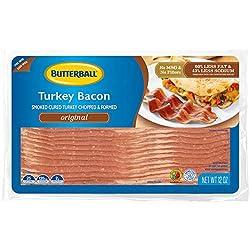 Butterball Ready-To-Serve Turkey Bacon, Gluten-Free, 12 oz.