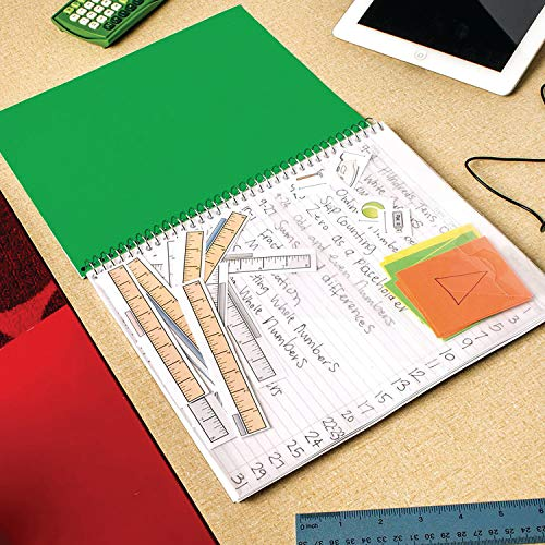 """Five Star Interactive Notetaking, 1 Subject, Wide Ruled Spiral Notebooks, 100 Sheets, 11"""" x 8-1/2"""", 3 Pack (38599) Photo #7"""