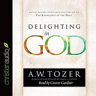 Delighting in God audiobook cover art