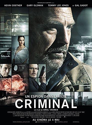 Affiche Cinéma Originale Grand Format - Criminal : Un Espion Dans La Tête (format 120 x 160 cm pliée)