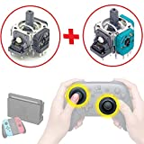 任天堂Switch スイッチプロコントローラー アナログスティック基板 プロコン修理完全キット(修理マニュアル付)アルプス電気他