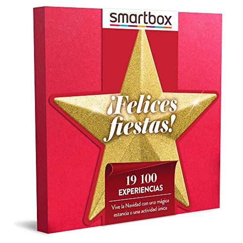 Smartbox - Caja Regalo Amor para Parejas - ¡Felices Fiestas! - Ideas Regalos Originales - 1 Experiencia de Estancia, gastronomía, Bienestar o Aventura para 1 o 2 Personas
