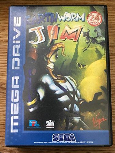 Mega Drive - Earthworm Jim