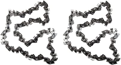 Morocca 2PC 8 in Replacement Pole Saw Chain Fits Ryobi RY43160 P4361 Pole Saw