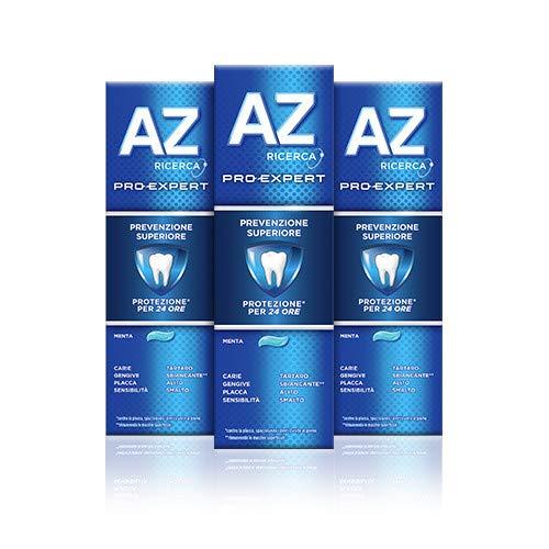 Az Ricerca Dentifricio Pro-Expert Prevenzione Superiore 3 x 75ml