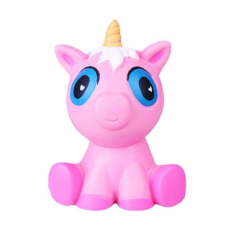 める忘れる逃げるフワフワのおもちゃスローライジングジャンボおもちゃは子供の大人のためのおもちゃのストレスリリーフのおもちゃユニコーンを絞ります