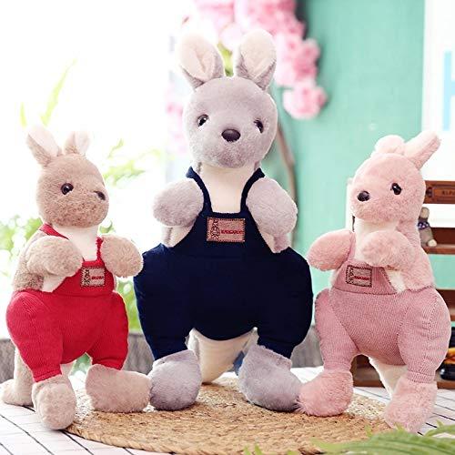 N / A süße Kuscheltiere & Plüsch Süße Känguru-Puppen & Accessoires Babyspielzeug Plüsch Klassisches Spielzeug Kinder Action & Spielzeug Figuren 30cm