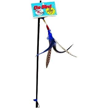 GoCat Da Bird Pull 2 Piece Pull Apart Rod & Bird, Handmade in The USA (1 Bird)