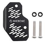 NICECNC Black Rear Master Cylinder Guard Compatible with YAMAHA RAPTOR 700 2006-2011,2013-2020,YFM700R 2012,2016-2020,XT600 1990-1995,YFZ450R 2009-2016 2018-2020,YFZ450X 2011