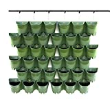 Worth Garden SELF Watering Indoor/Outdoor Vertical Wall Hangers Pots...
