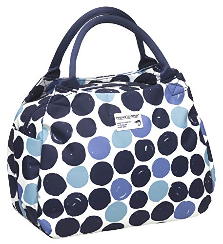 New Looxs Handtasche Tosca Midi Dots Blau