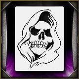 Grim Reaper 4 AirSick Airbrush Stencil Template