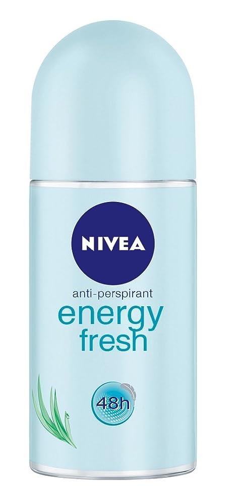 維持する注釈を付けるどう?Nivea Energy Fresh Anti-perspirant Deodorant Roll On for Women 50ml - ニベアエネルギー新鮮な制汗剤デオドラントロールオン女性のための50ml