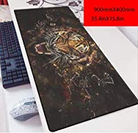 ゲーミングマウスパッド, ソードアート・オンラインキリトアスナ90x40アニメ3ミリメートルマウスパッド第二の要素特大のキーボードパッドキーボードパッド、X. (Color : Q)