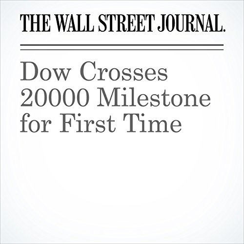 Dow Crosses 20000 Milestone for First Time copertina