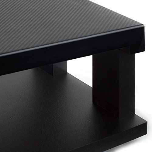 Aleratec Heavy Duty Flat LCD/LED TV Swivel Stand 2-Tier Entertainment Center