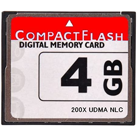 NLC オリジナルブランド [ 東芝チップ内蔵 ] CompactFlash CFカード コンパクトフラッシュ 4GB 200X 200倍速 UDMA 対応