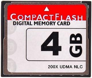 [ 東芝製チップ ] 採用オリジナルブランド CompactFlash CFカード コンパクトフラッシュ 4GB 200X 200倍速 UDMA 対応 D2Xs/D2Hs/D3/D3S/D700/D300S/EOS 5D MarkII/7D/ 60D/EOS 5D MarkIII/D600/D800E/D7000/D4●