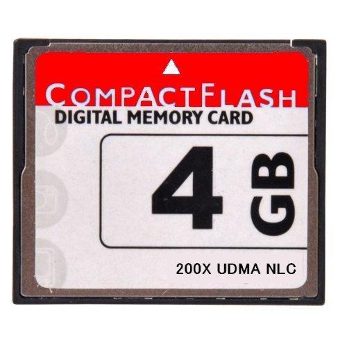 NLC オリジナルブランド [ 東芝チップ内蔵 ] CompactFlash CFカード コンパクトフラッシュ 4GB 200X 200倍速 UDMA 対応 D2Xs D2Hs D3 D3S D700 D300S EOS 5D MarkII 7D 60D