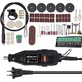 KKmoon Utensile Multifunzione Oscillante Smerigliatrice Elettrica180W Mini Portatile Tagli...